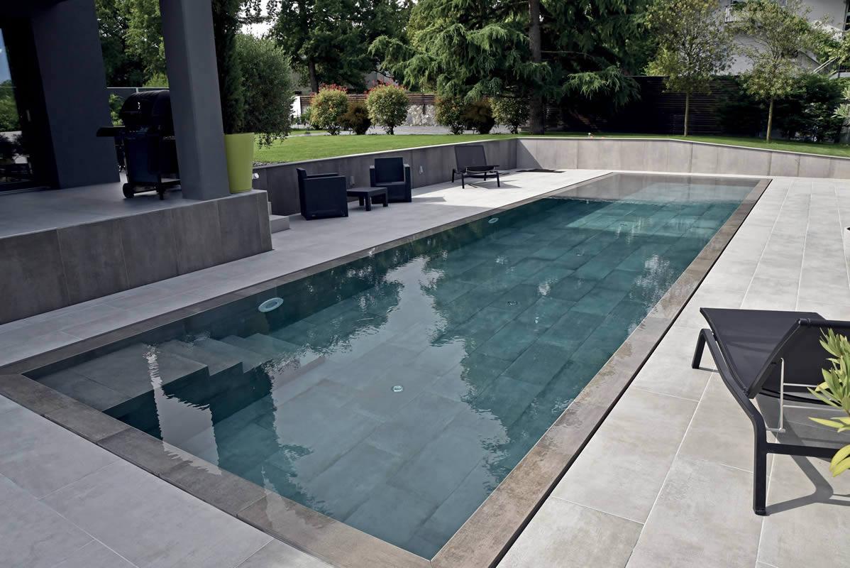 Pavimenti Per Piscine In Gres Finiture Legno Pietra E Cemento