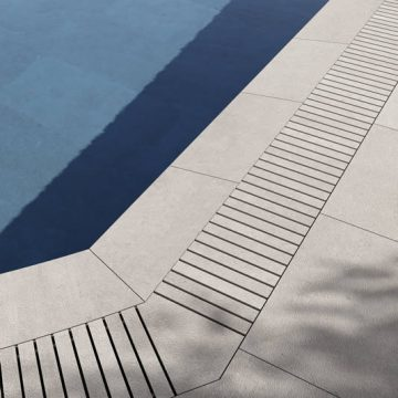 griglia piscina a sfioro
