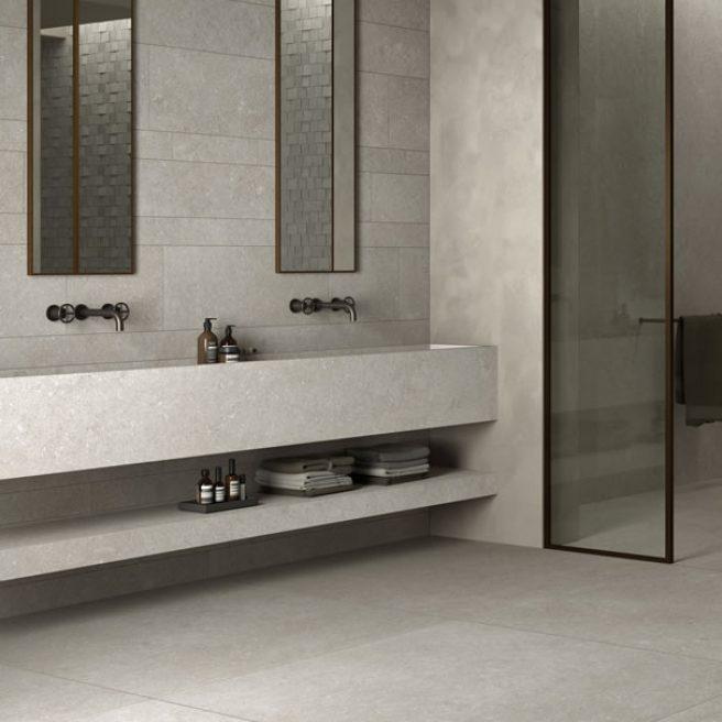 doppio lavabo su misura
