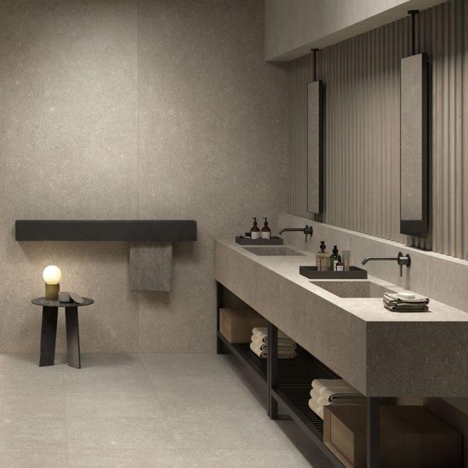 lavabo in gres porcellanato