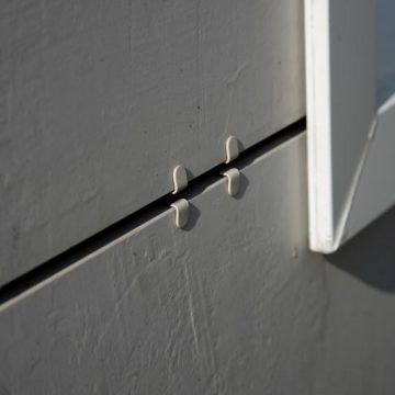 facciata ventilata ancoraggio meccanico vista