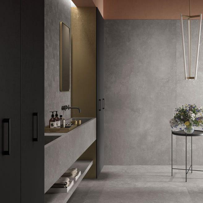 lavabo bagno effetto pietra