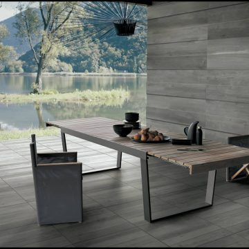 Pavimentazione esterni effetto legno