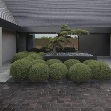 Pavimentazione esterni effetto pietra
