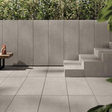 rivestimento esterno effetto cemento