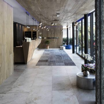 pavimenti albergo effetto pietra