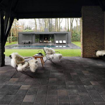 pavimento esterno effetto pietra