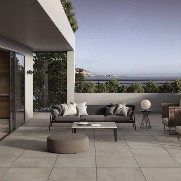 Pavimento per terrazzi galleggiante effetto pietra