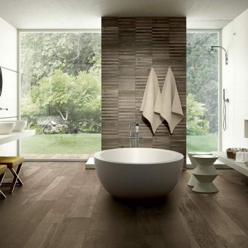 pavimento bagno gres porcellanato effetto legno