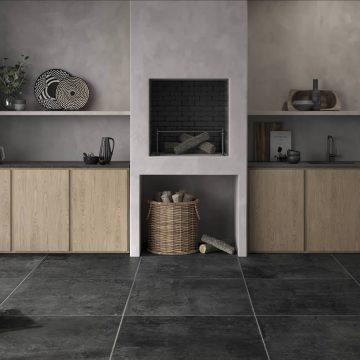 pavimento vintage effetto pietra