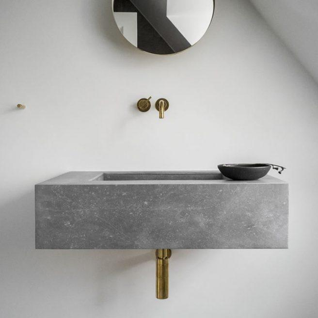 piccolo lavabo su misura