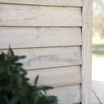 rivestimento facciata effetto legno