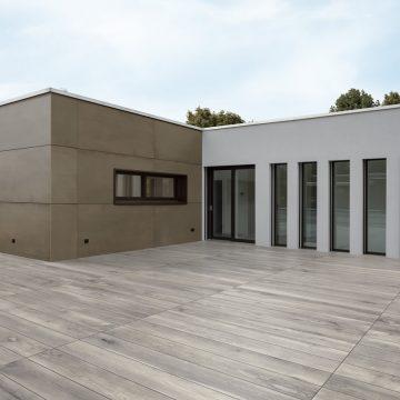 terrazza facciata esterna